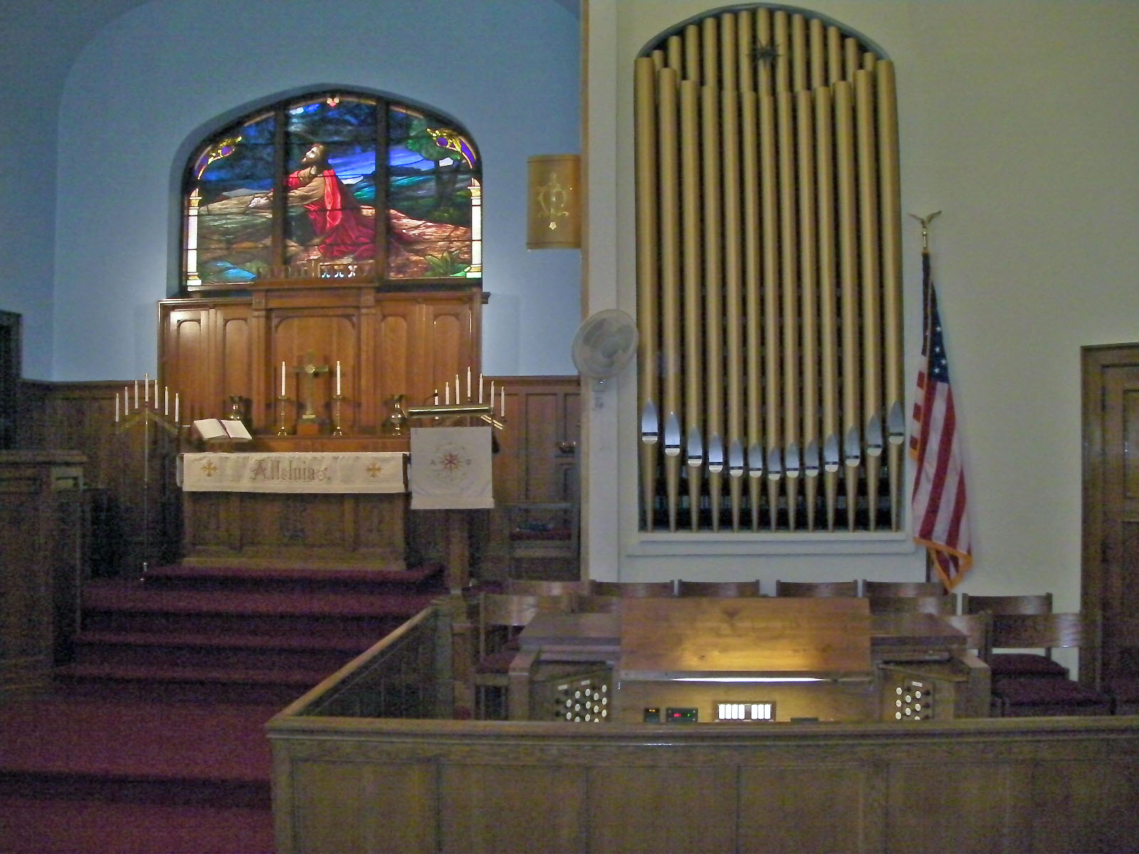 TLC 2015 Pipe Organ 1